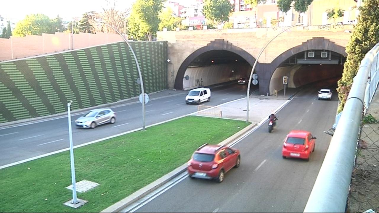 Nou radar de tram al Túnel de la Rovira