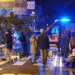 Dos ferits greus en un accident a la cruïlla del carrer de Santaló amb Descartes