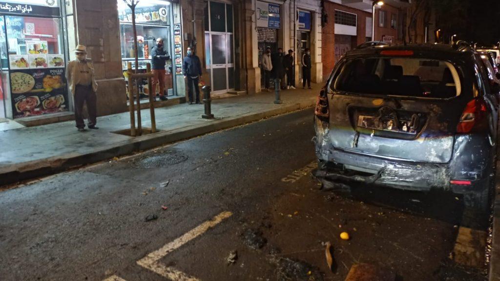 cotxe cremat desnonament raval