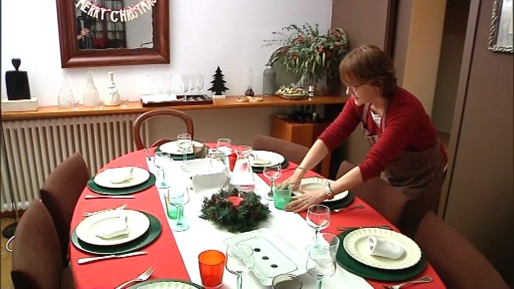 Taula parada pel dinar de Nadal