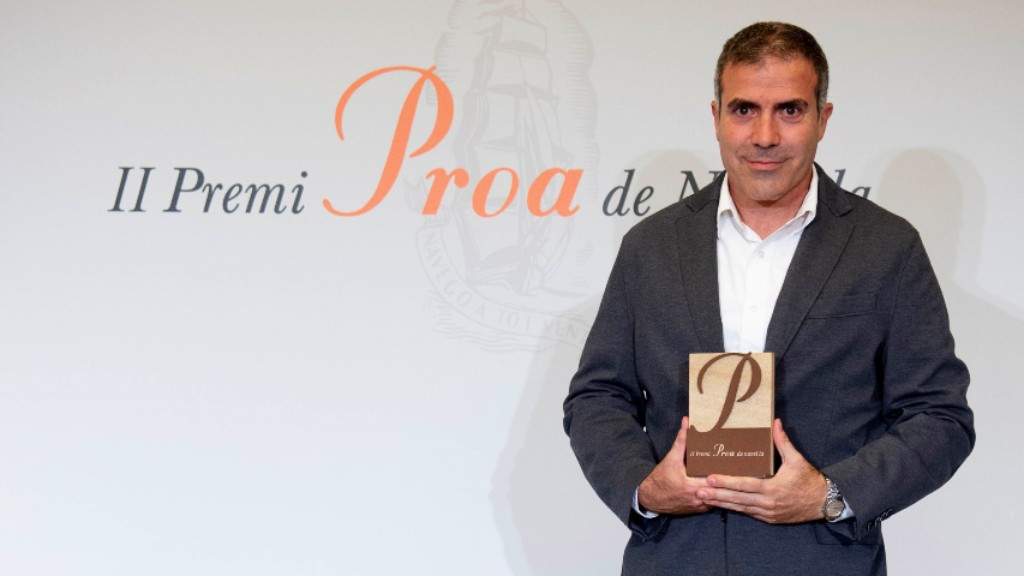 Francesc Serés II Premi Proa novel·la