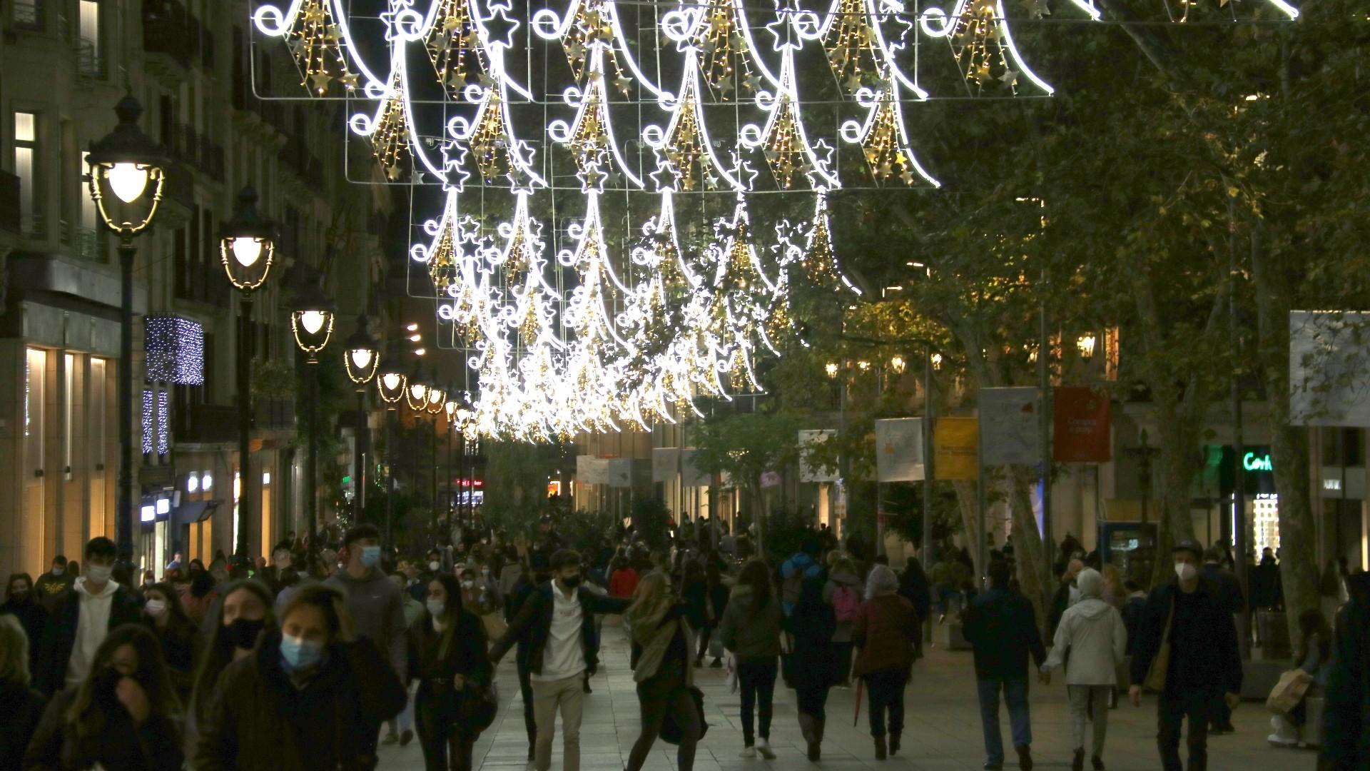 llums Nadal portal de l'Àngel