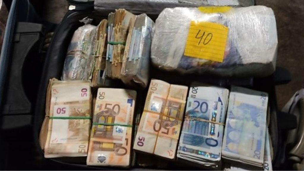 maleta diners contraban port Barcelona