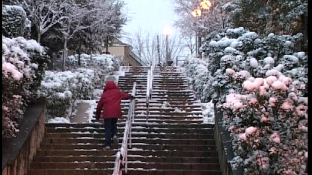 nevada desembre 2001 Vallvidrera