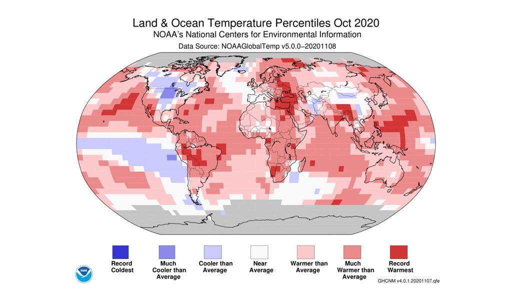noaa canvi climàtic