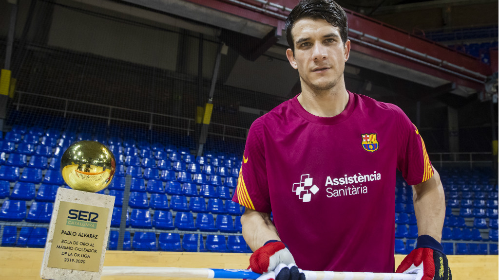 Pablo Álvarez Bola d'or 2019-2020