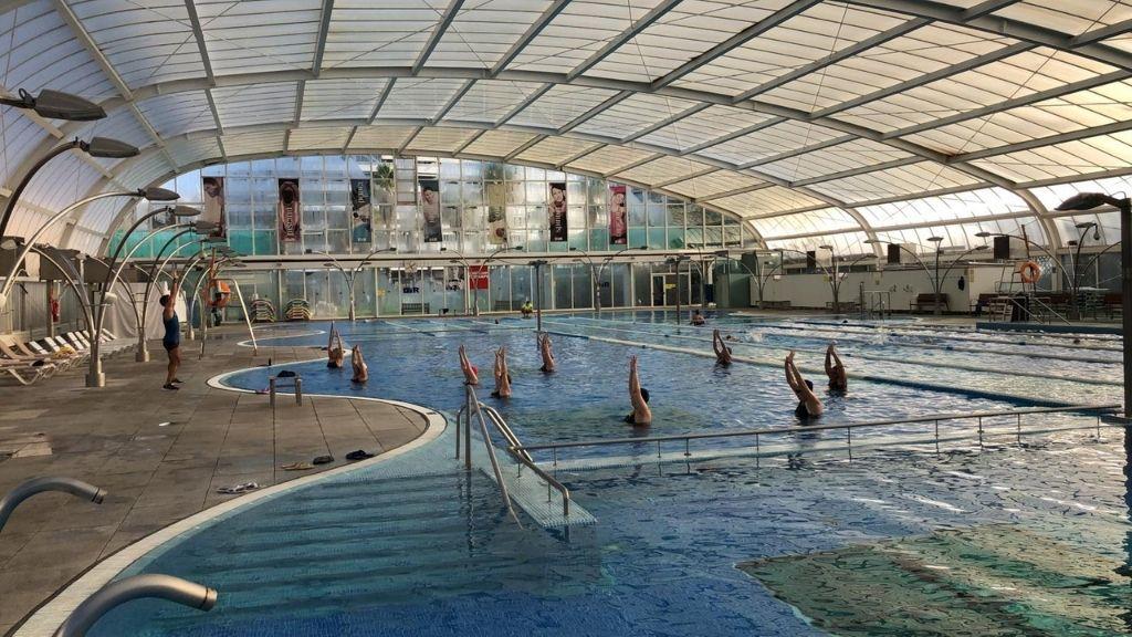piscina interior DIR Diagonal