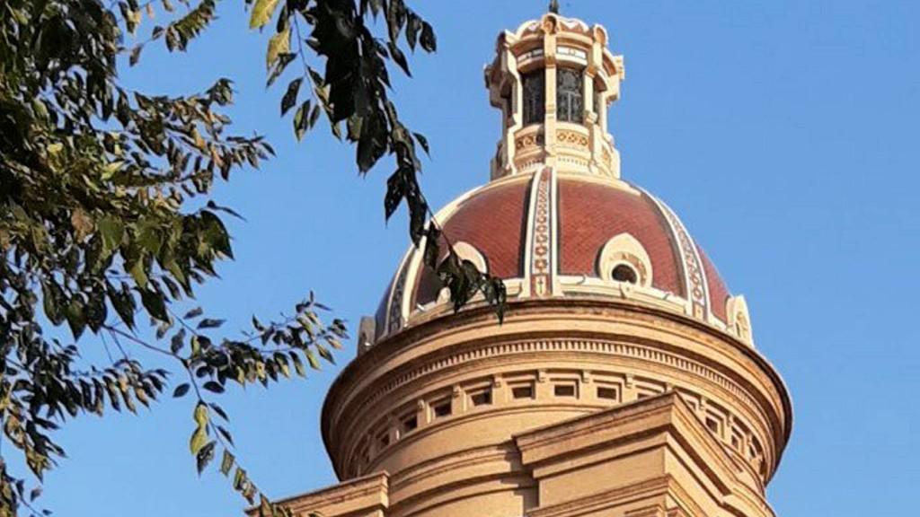 cúpula església sant andreu palomar