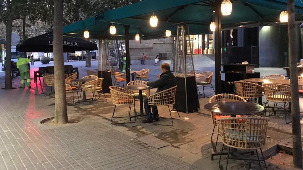 terrassa bar primer dia desescalada