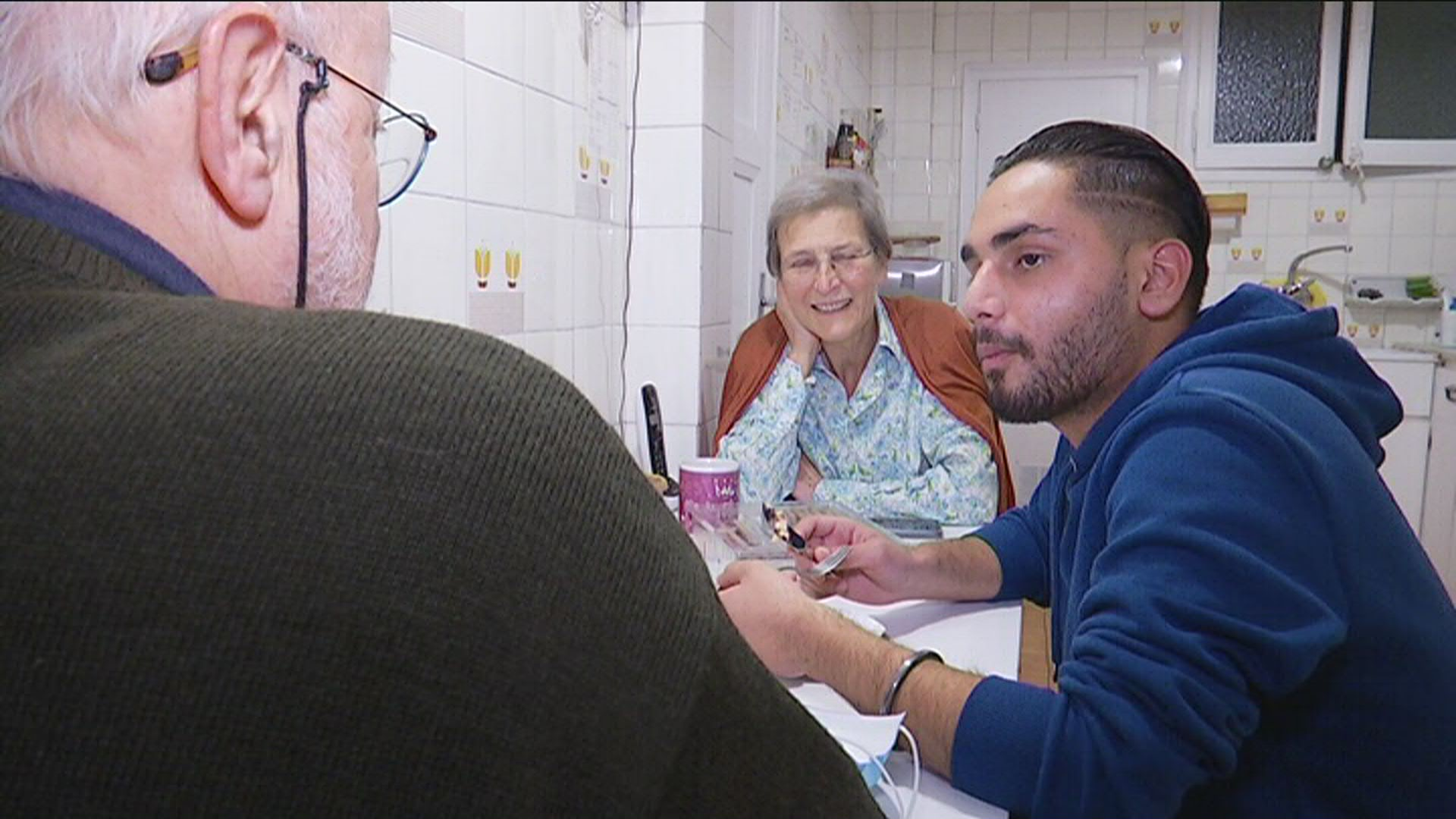 Famílies acollida joves migrants