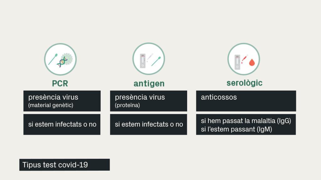 tipus test coronavirus
