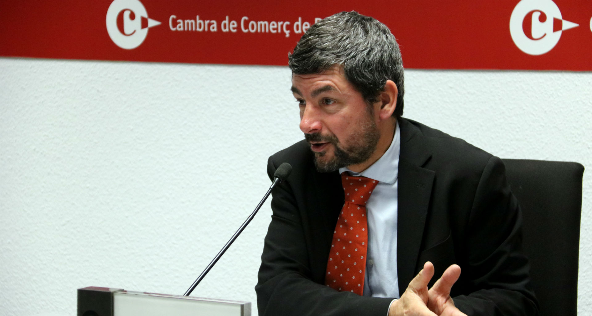 Joan Canadell, president de la Cambra de Comerç de Barcelona