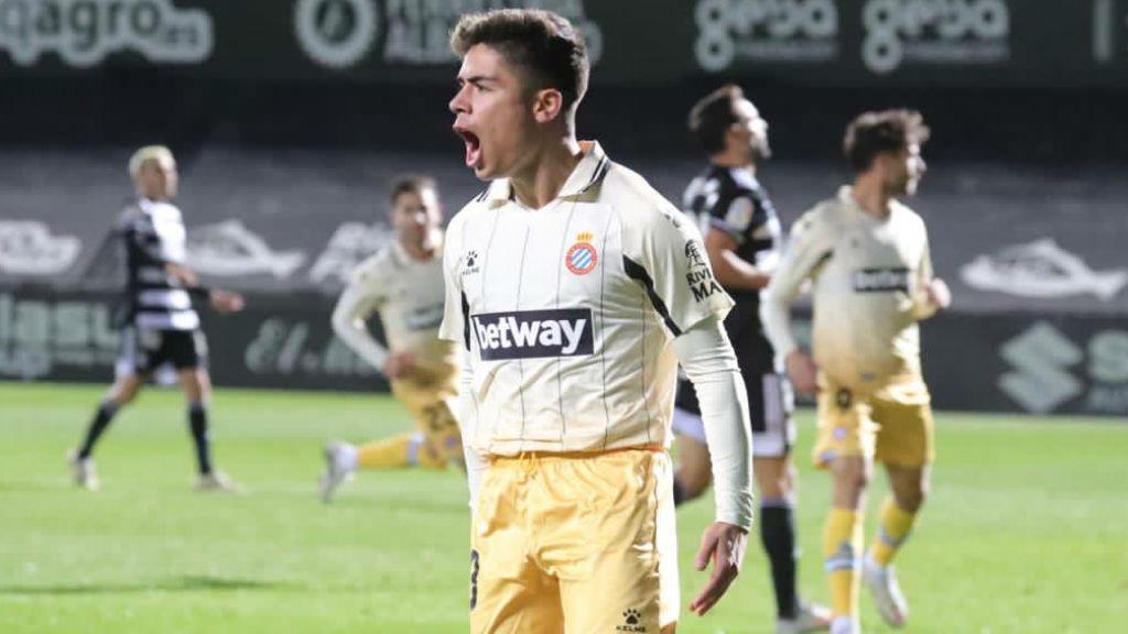 Nico Melamed, revulsiu al Cartagena - Espanyol