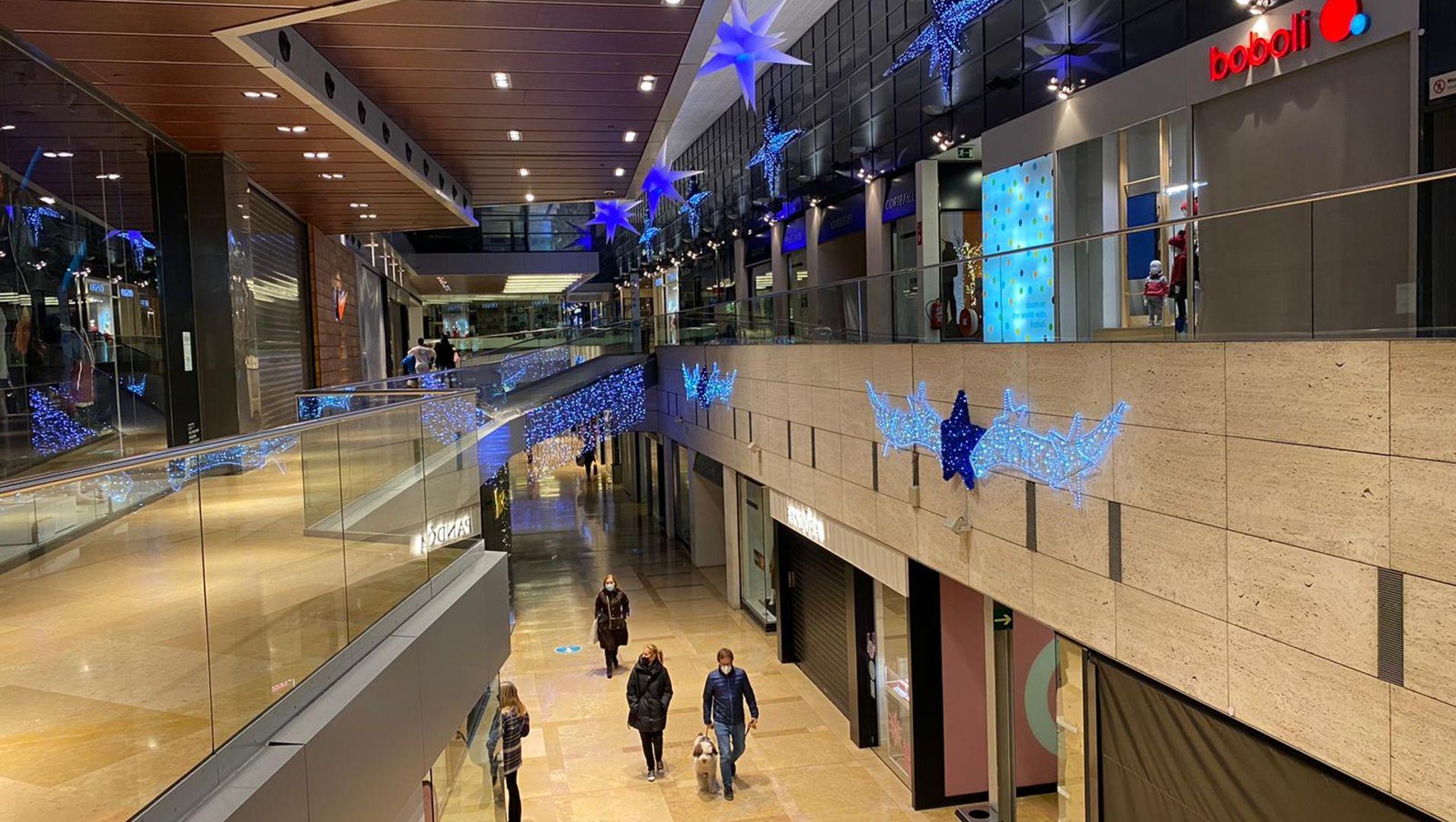 Interior del Centre Comercial l'Illa