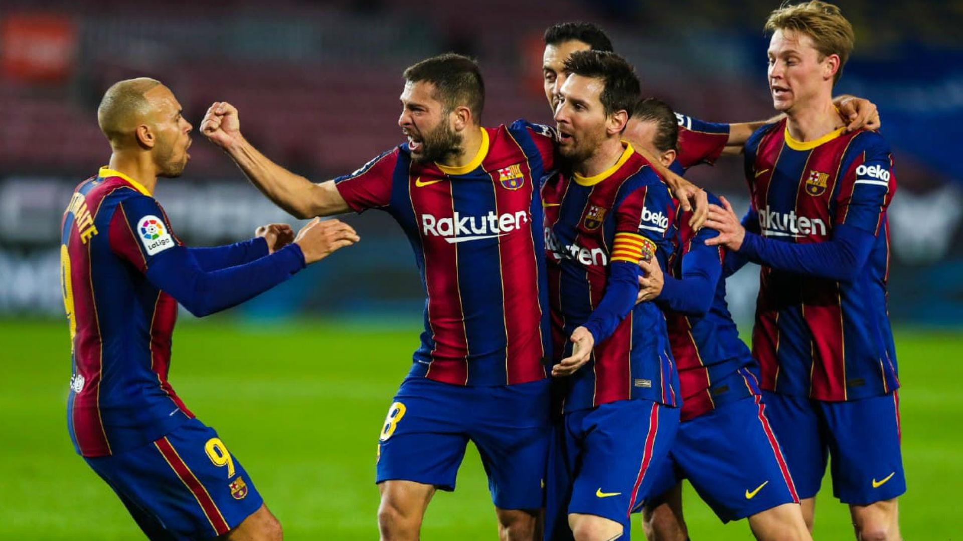 Victòria del FC Barcelona davant la Reial Societat