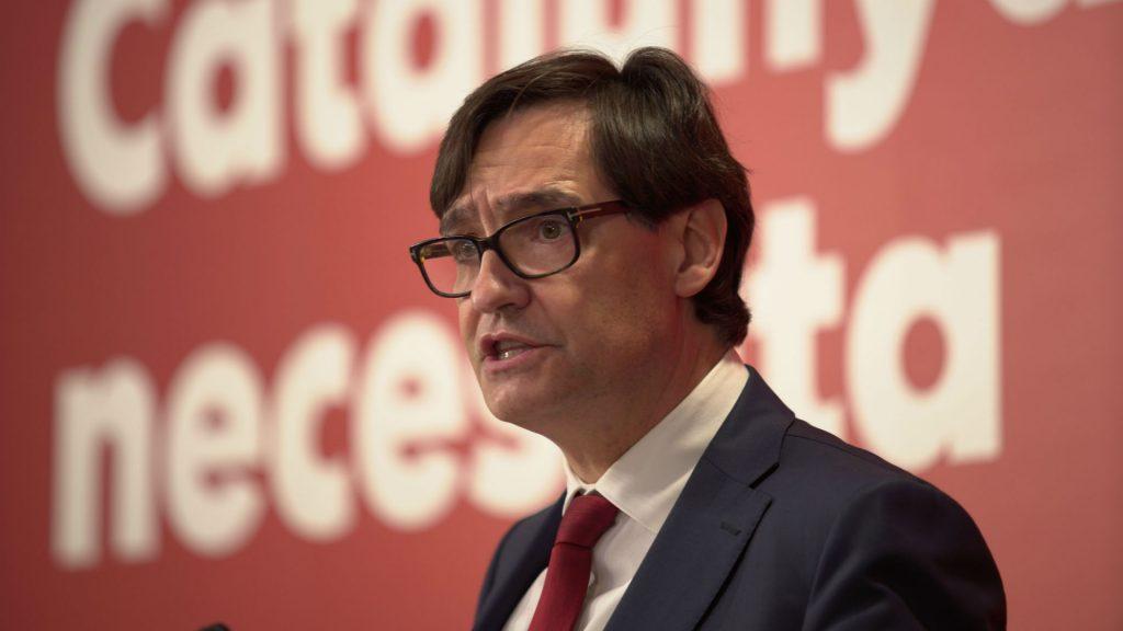 Salvador Illa Partit Socialista de Catalunya