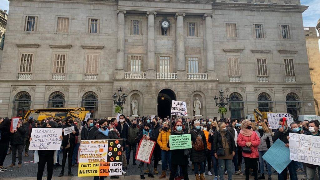 protesta treballadors bingos i casinos