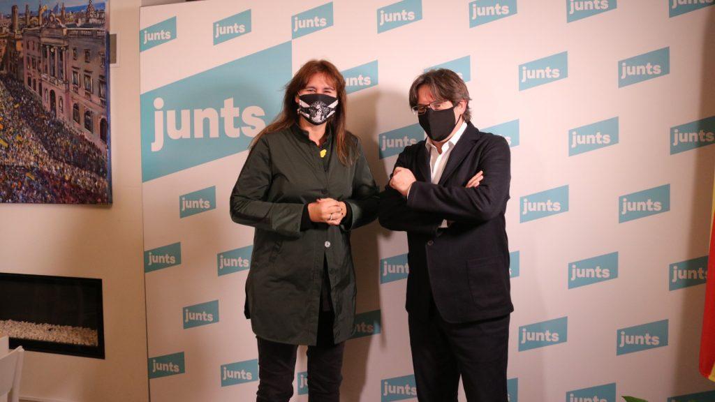 Carles Puigdemont junts per catalunya