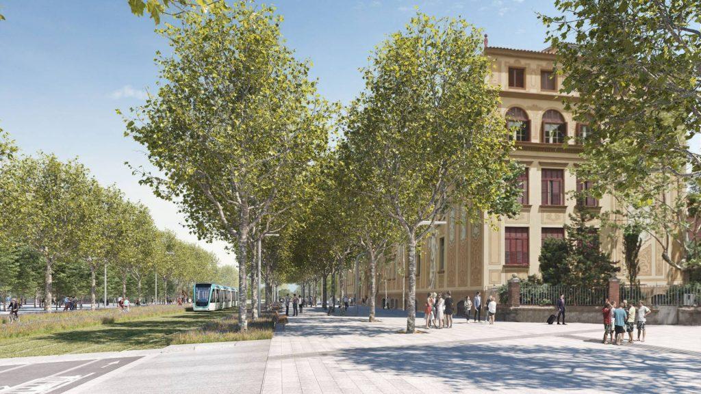 Diagonal de Barcelone
