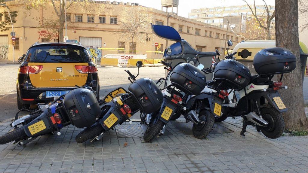motosharing motos caigudes vent