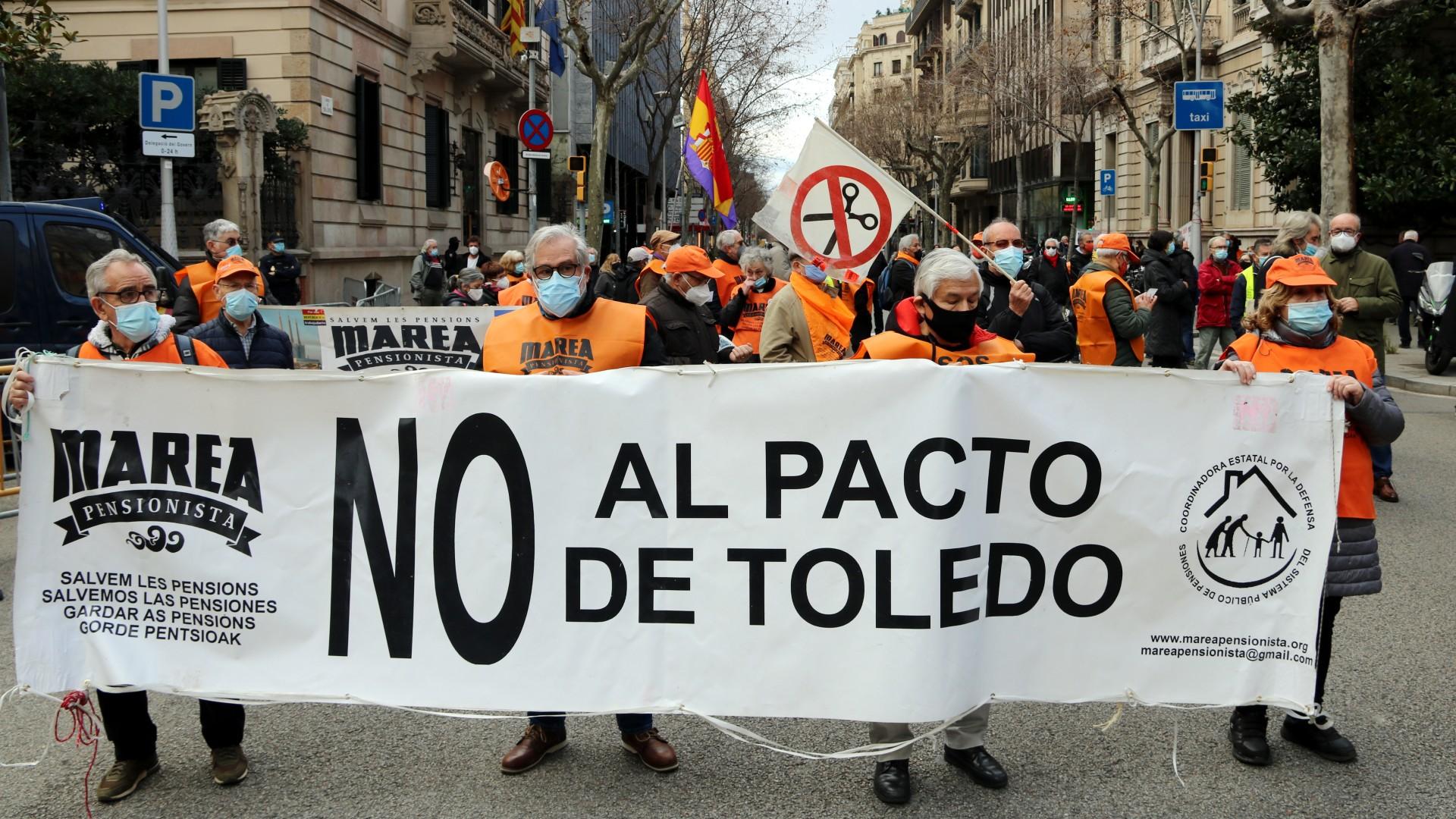 protesta marea pensionista