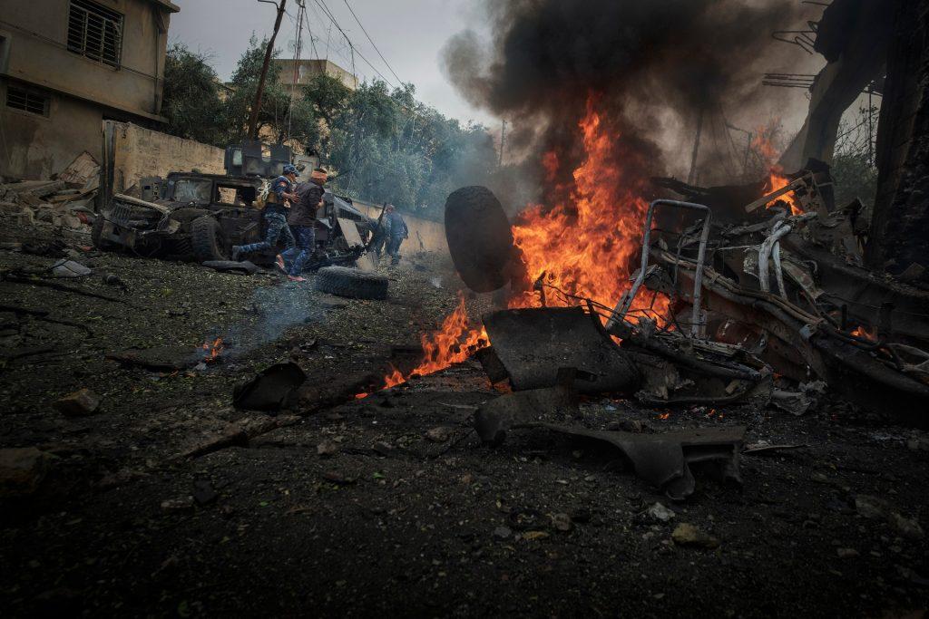 Fade to black - Estat islàmic - Mosul 2017 - Autor Ricardo Garcia Vilanova