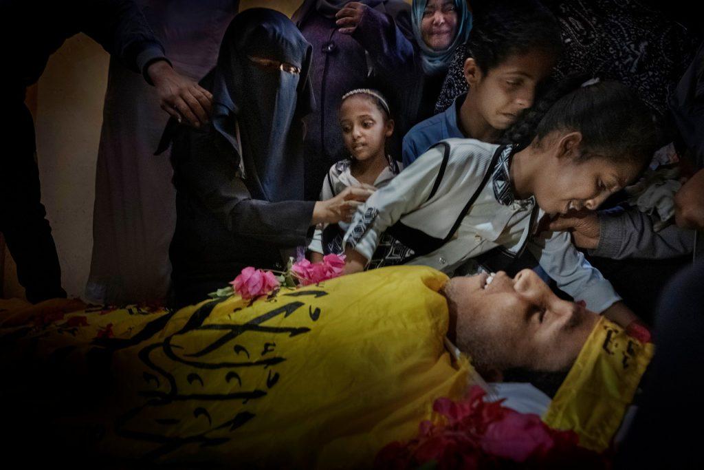 Víctima de les tropes israelianes durant la Gran Marx del Retorn a Gaza 2018 - Autor Ricardo Garcia Vilanova