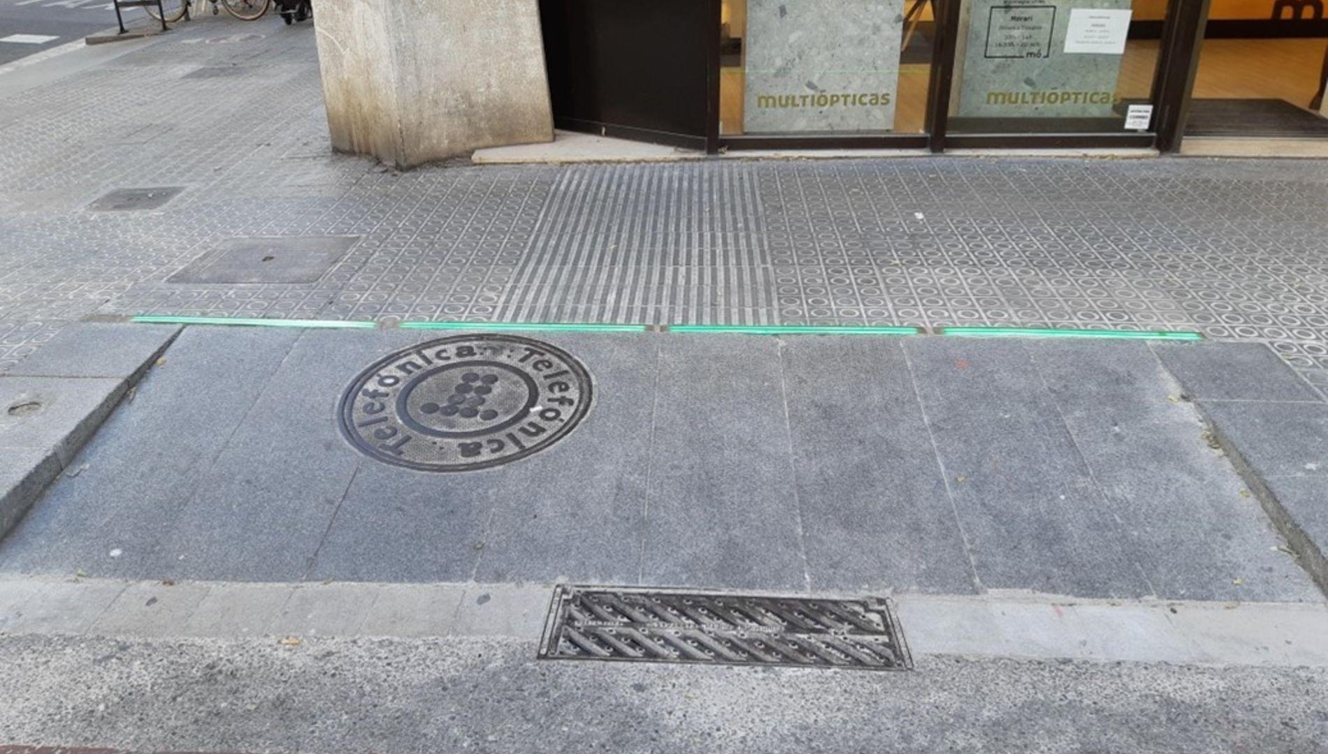 Semafor paviment