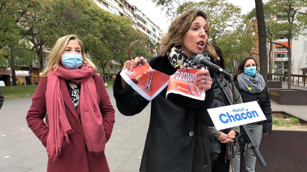 Àngels Chacón candidata PDECAT