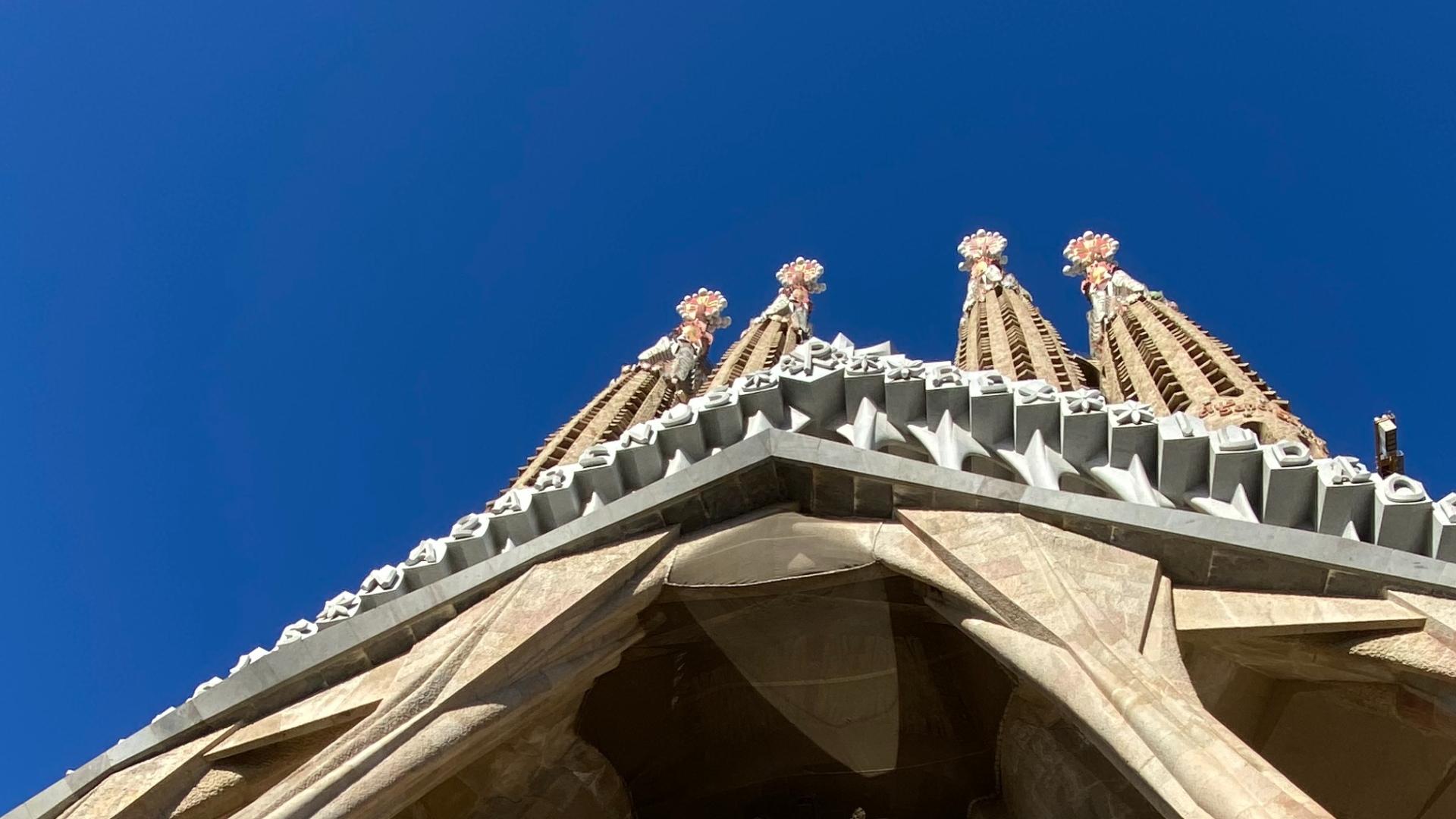 arquitectura sagrada familia