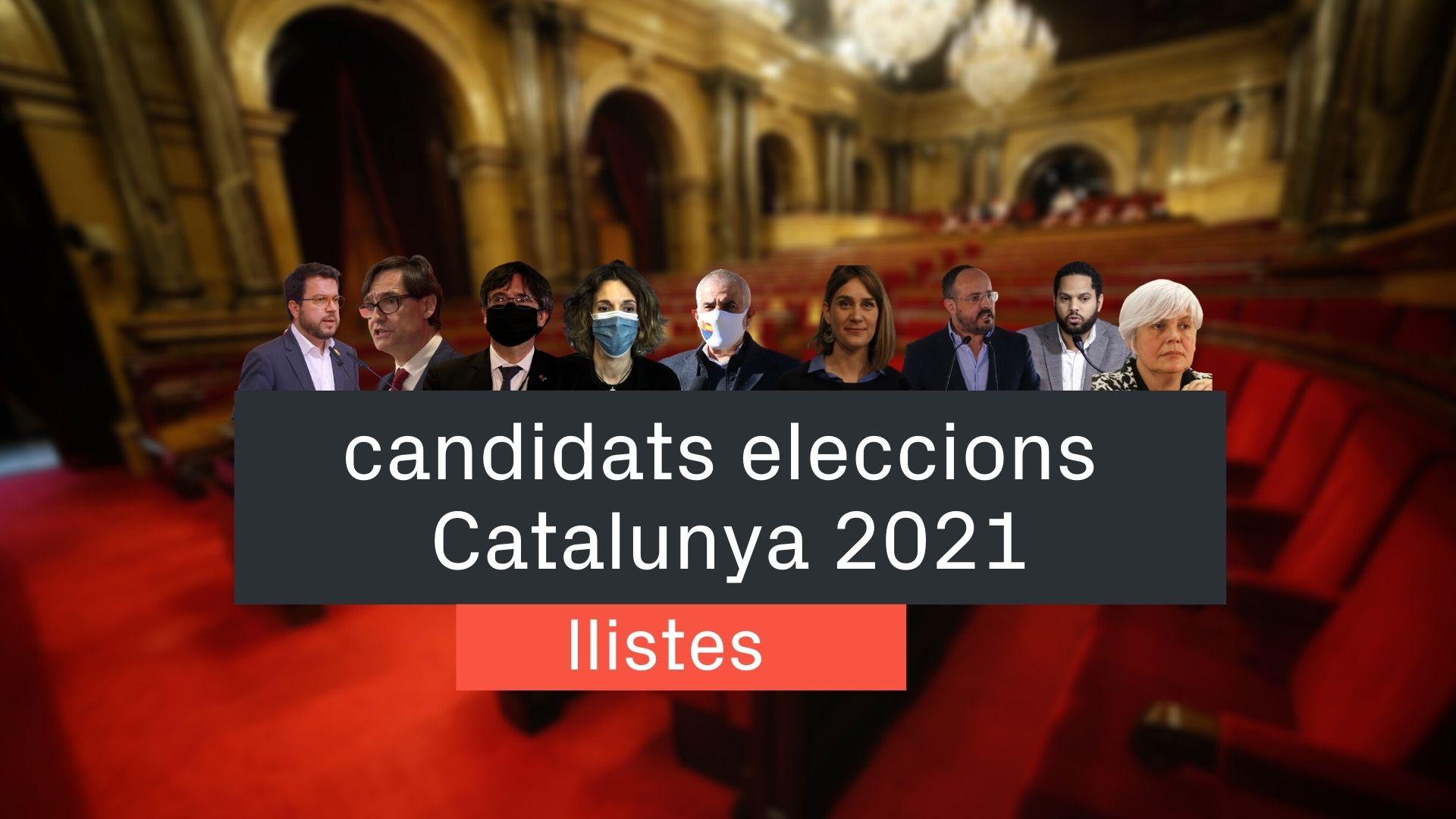 candidatos elecciones catalunya