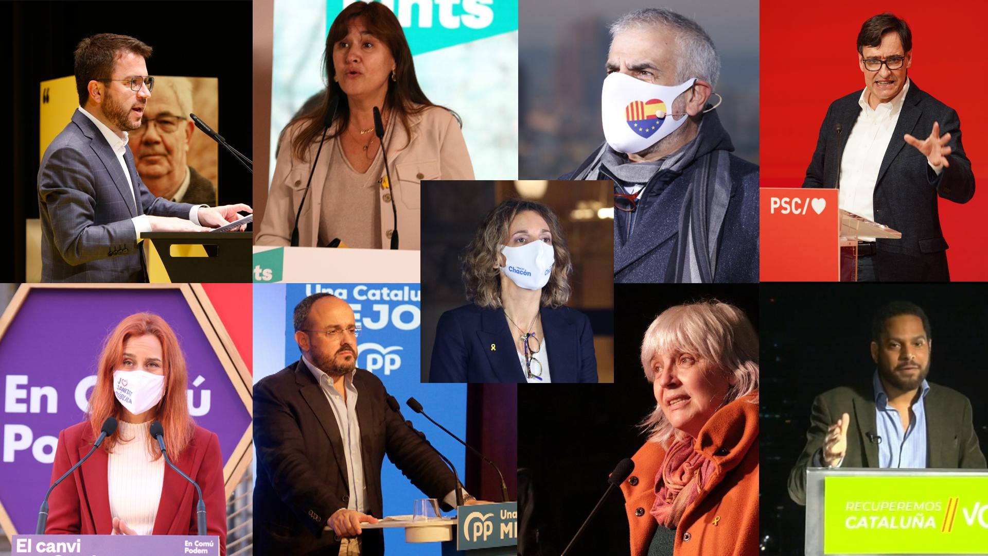 candidats eleccions 14-f