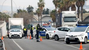 confinament comarcal control policial