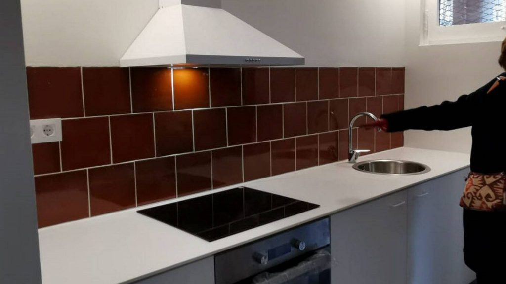 cuina rehabilitada Casa Bloc