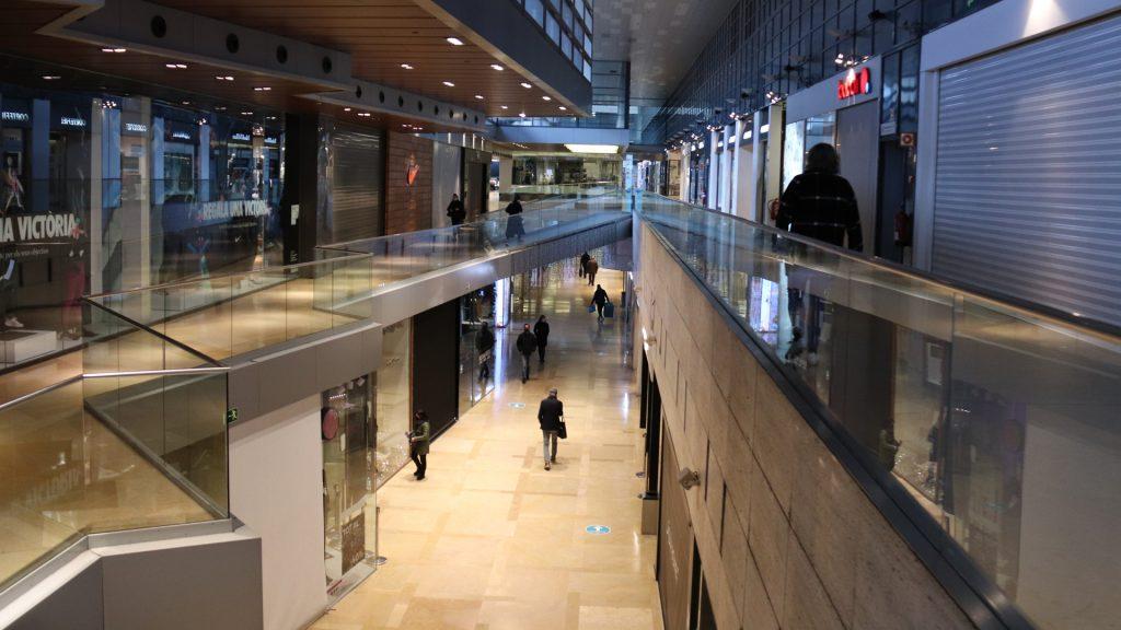 Centre comercial de l'Illa Diagonal tancat