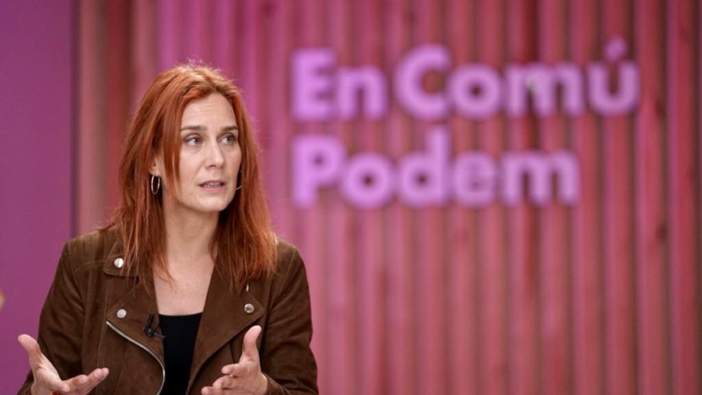 Jéssica Albiach, candidata d'En Comú Podem
