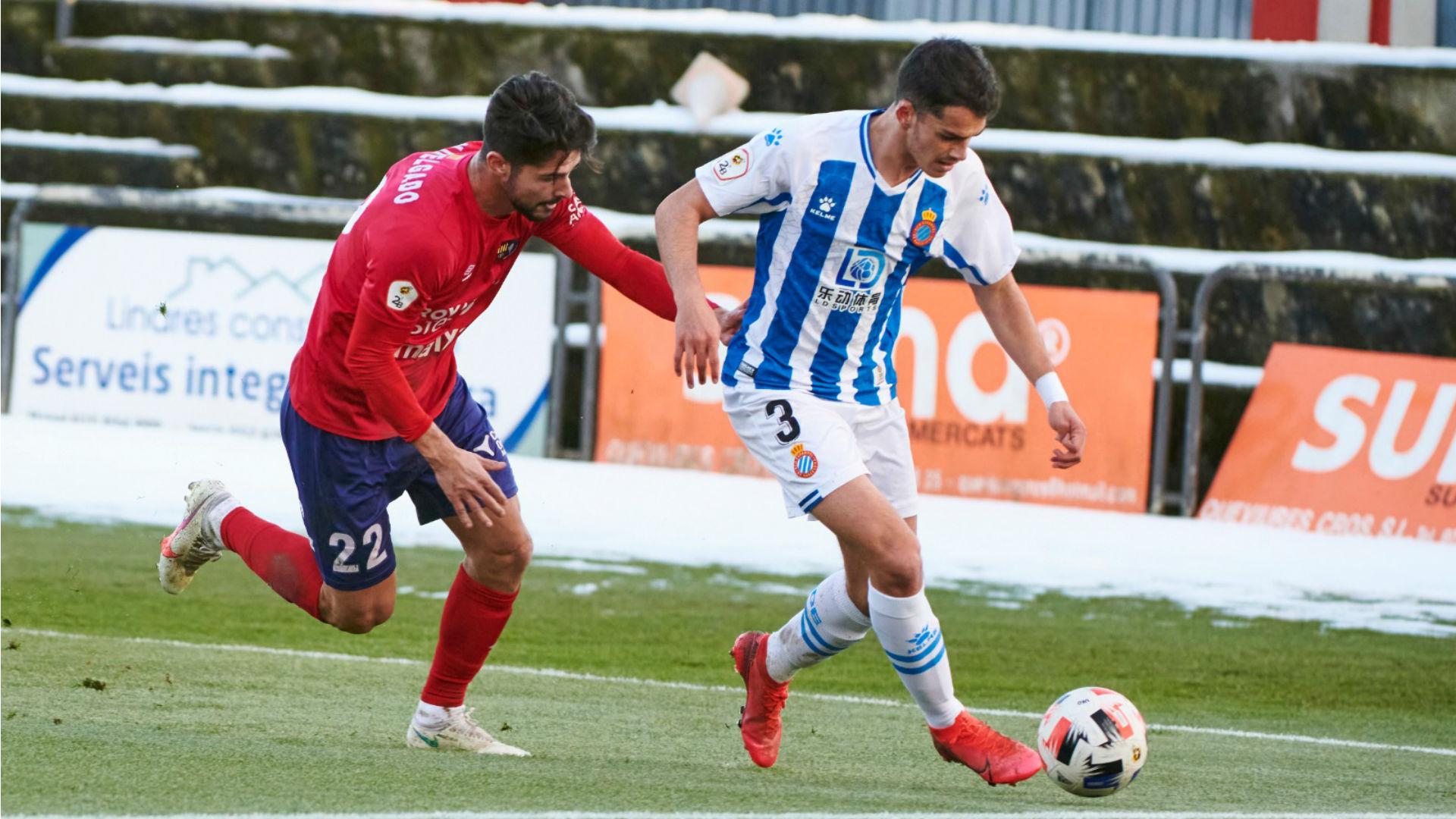 L'Espanyol B esgarrapa un punt al camp de l'Olot | betevé