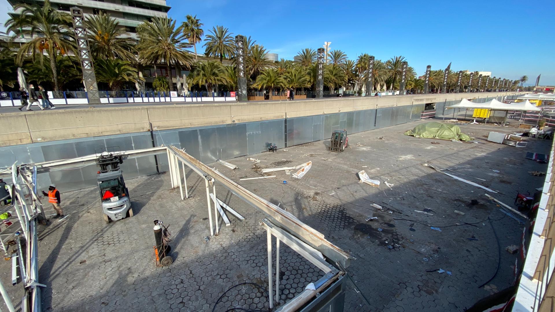 terrasses port olimpic locals