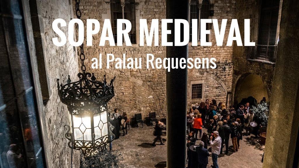 sopar medieval palau requesens