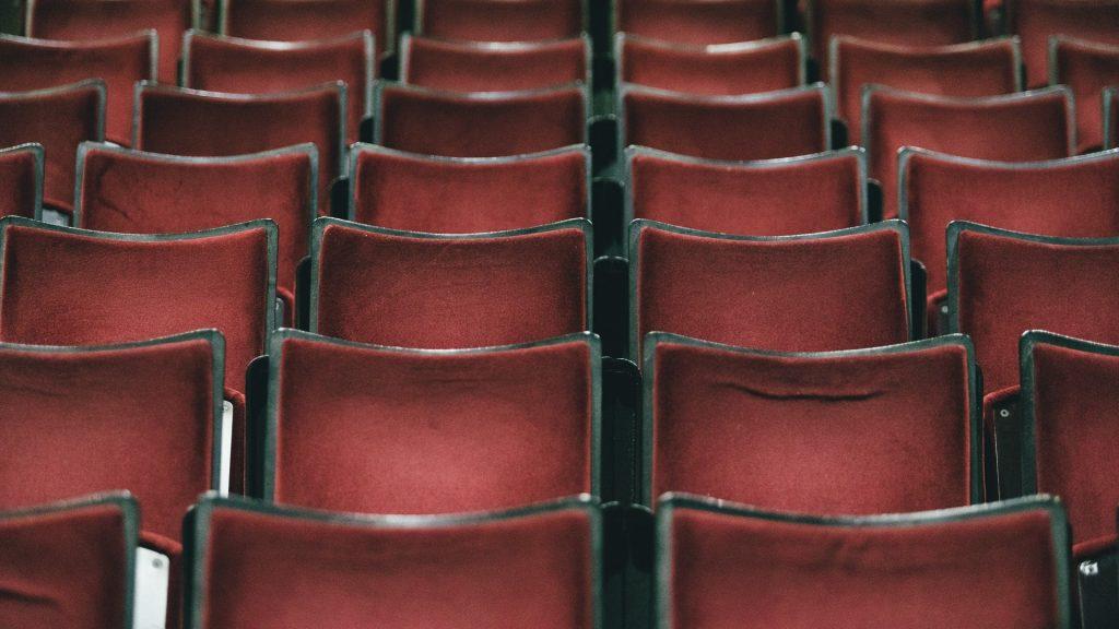 Butaques d'un teatre