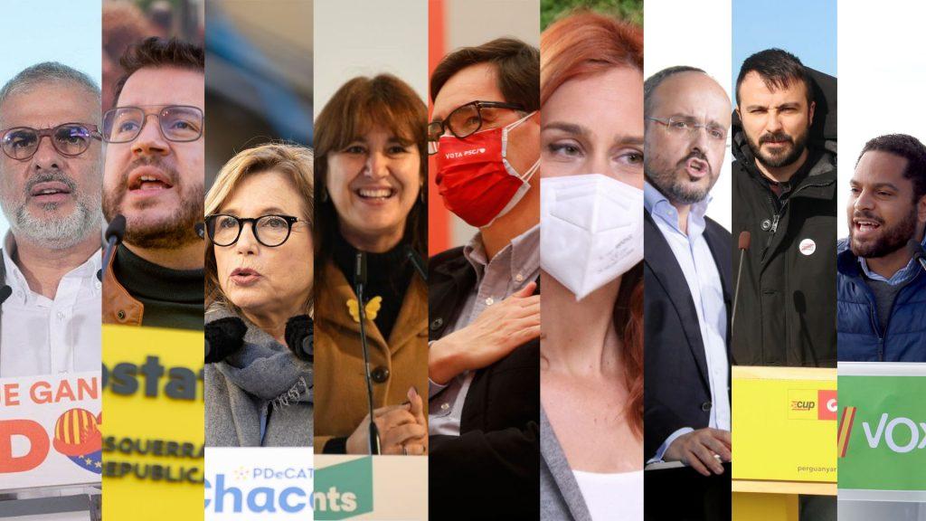 candidats 14-f tercer dia campanya Catalunya
