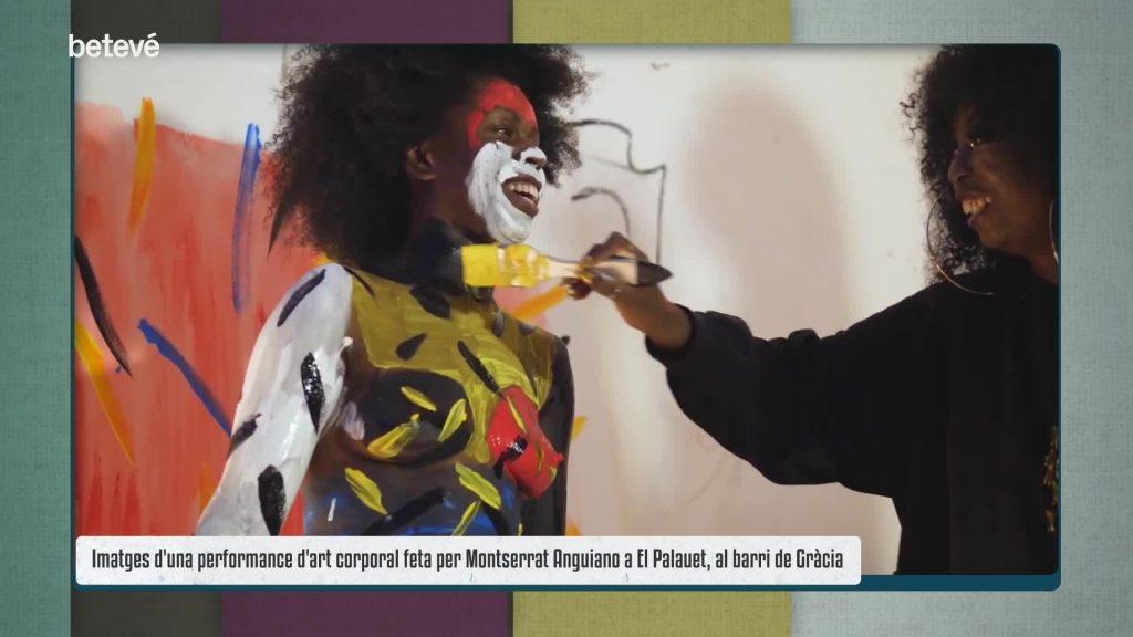 FB Montserrat Anguiano body paint febrer 2021