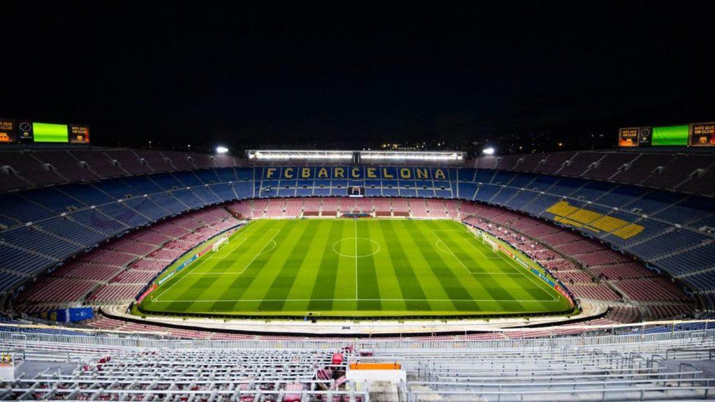 Imatge Camp Nou de nit