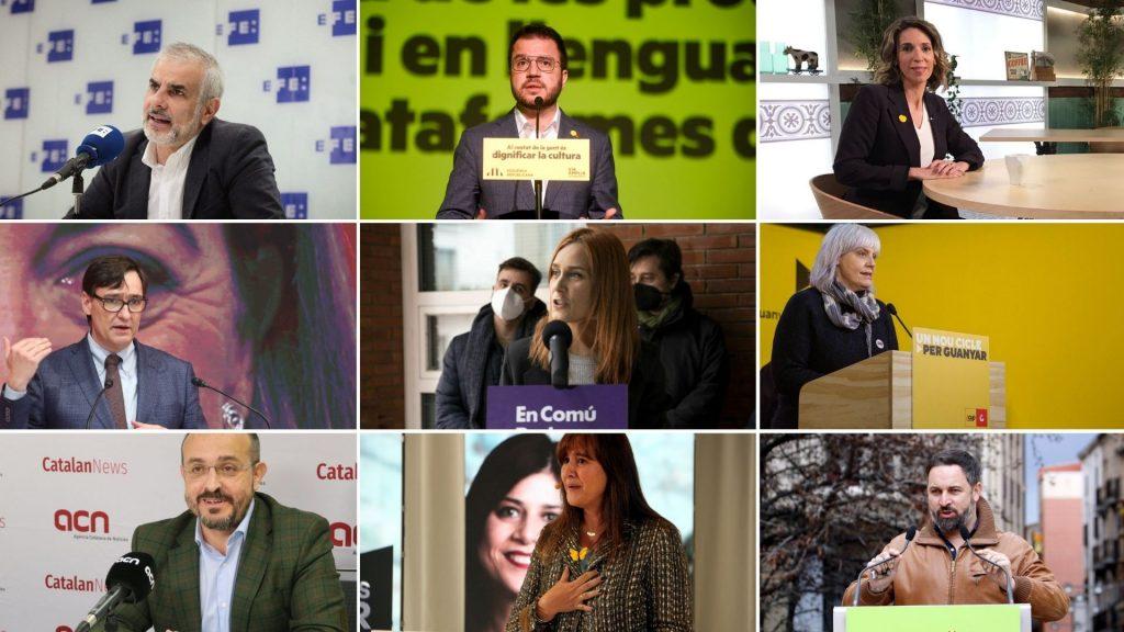 candidats eleccions 13 dia campanya 14f