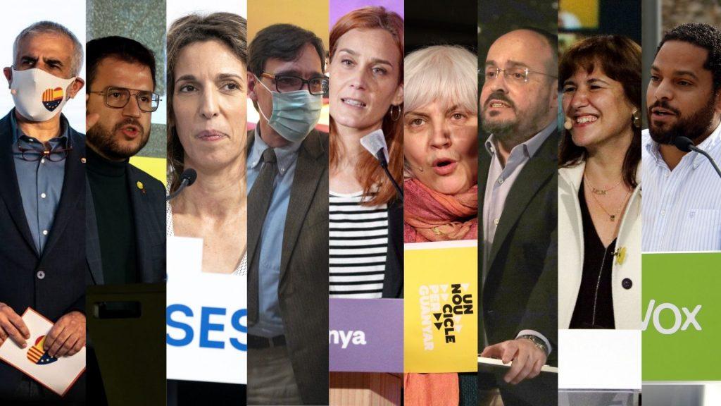 candidats generalitat eleccions 14f
