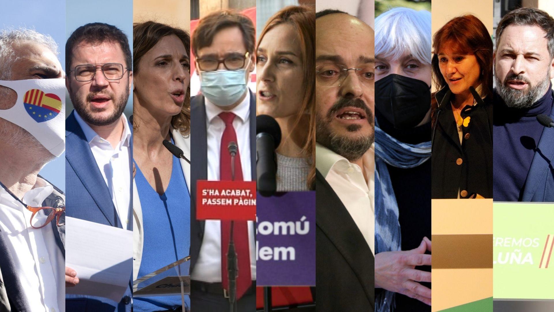 candidats eleccions 14f penúltim dia campanya
