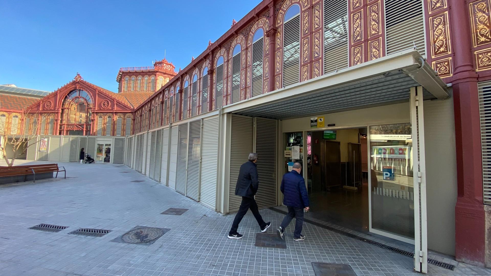 mercat Sant Antoni col·legi electoral