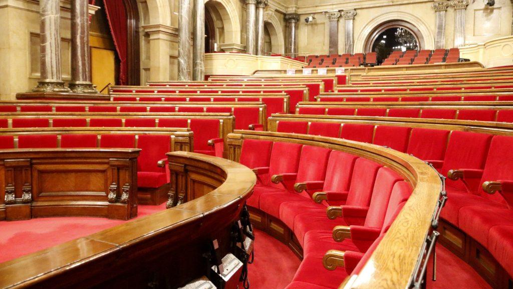 parlament de catalunya buit
