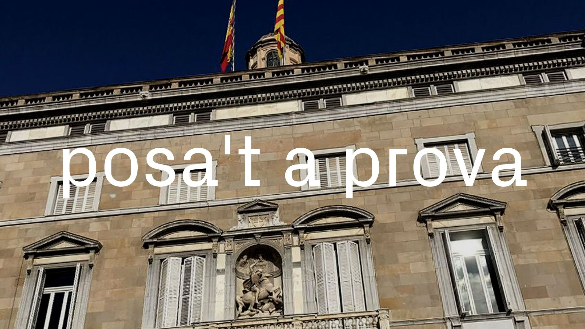 presidents Generalitat
