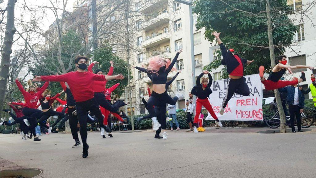 Protesta dansa classes presencials